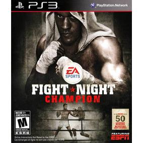 Fight Night Champion Completo Boxeo Ps3 Digital Entrega Ya!