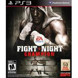 Fight Night Champion Completo Boxeo Ps3 - Entrega Inmediata