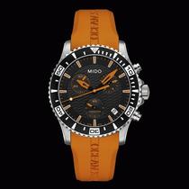 Reloj Mido Oean Star Captain Iv Chrono Estencible De Caucho