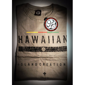Camiseta Manga Curta Tamanho P - Hawaiian Island Creations