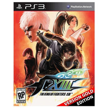 The King Of Fighters Xiii Gold Edition Con Online Ps3