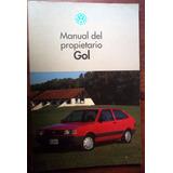 Volkswagen Vw Gol Gl 1993/1996 Manual Propietario La Plata