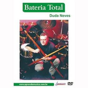 Dvd Duda Neves - Bateria Total