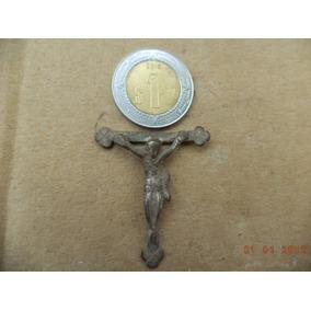 Crucifijo Antiguo Sin La Parte Superior De La Cruz