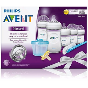 Set De Teteros Philips Avent Anticólicos Natural Recien Nac