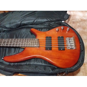 Ibanez Bajo Activo De 5 . No Fender, Jackson, Gibson, Ltd