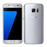 Galaxy S7 Silver Titanium 32gb + Garantia + Tienda