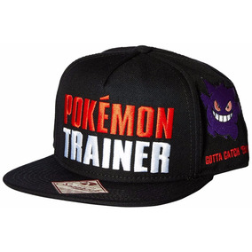 Gorra Snapback Pokemon Trainer Color Omni Oficial Nueva