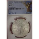 Moneda 1 Onza Libertad 1984 Ngc 65 !!