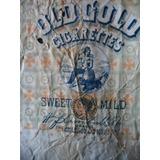 Antigua Cajetilla Cigarrillos Old Gold U.s.a 1920