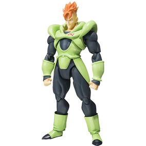 Dragon Ball Z Android 16 S.h.figuarts - Bandai
