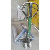 Carrinho Hidraulico Paleteiro Capacidade Carga 2000kg