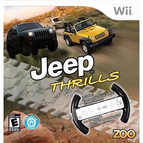 Jogo Jeep Thrills Lacrado Nintendo Wii Wii U Com Volante