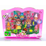 Pinypon Set Blancanieves Y 7 Enanitos Disney + 14 Accesorios
