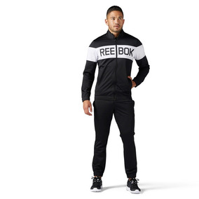 Pants Completo Reebok Cuffed Tricot Hombre Deportivo Gym