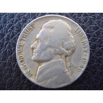 Estados Unidos - Moneda De 5 Centavos, Año 1946 - Muy Bueno