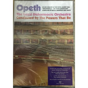 2 Dvd Opeth In Live Concert At The Royal Albert Hall Nuevo