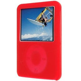 Red Silicone Case / Skin / Protector / Cover Para Apple Ipo