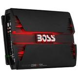 Amplificador De Sonido Boss Phantom 2200 2200 Watts 4 Cana