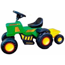 Tractor A Bateria Electrico + Bat + Carg Rodacross Babymovil