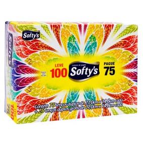 Lenços De Papel Softys Com 100 Unidades