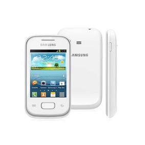 Celular Samsung Pocket Plus Branco Gt-s5301 3g Wifi Android