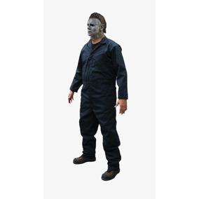 Disfraz Mascara Y Overol Michael Myers Halloween Talla 36
