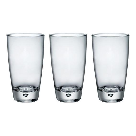 Vaso Luna Beverage 340 Ml. Cristal Italiano X 12 Unidades