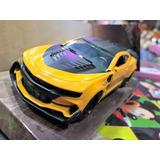 Auto Bumblebee Transformers Coleccion Metal Escala 1/32
