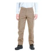 Pantalón De Trabajo Pampero Cargo Tela Ripstop Col Vs 56al60
