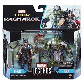Marvel Legends Thor Ragnarok 2 Pack 3.75 Thor & Hulk 2017