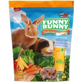 Ração Funny Bunny Delícias Da Horta 1,8kg Fardo C/ 5 Pacotes