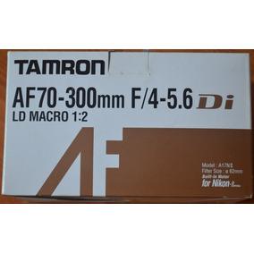 Lente Tamron Af 70-300mm Ld Macro 1:2 Para Nikon Profesional
