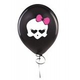 Monster High Balão Skullette Preto N