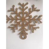 Adornos De Navidad Esferas Copos De Nieve J1024