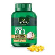 Oleo De Coco Extra Virgem Copra - 60 Capsulas 1000mg