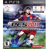 Juego Físico Pes 2011 Playstation 3 Ps3 Original