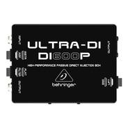 Behringer Ultra -di Di600p Caja Di Pasiva De Alto Rendimient
