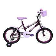 Bicicleta Cairu 16 Feminina Fadinha Lilas