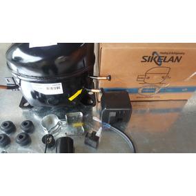 Compresor Sikelan 1/5 Refrigerante R134a Con Caja