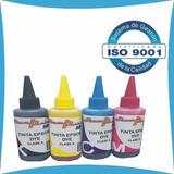 Combo Tintas Epson Serie L L120 L200 L210 L355 L555