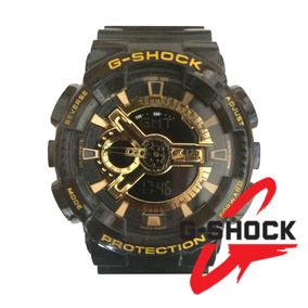 Reloj G-shock Ga-110gb-1a Edicion Limitada Negro Dorado