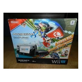 Consola Nintendo Wii U Deluxe 32gb Mario Kart 8 Usado S/899