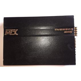 Amplificador Mtx Thunder 4300x 4 Canales, En Buen Estado