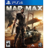 Mad Max Nuevo Sellado Original Juegos Para Ps4