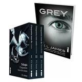50 Sombras De Grey Trilogia + 4to Libro 50 Sombras Intimas