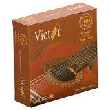Cuerdas Juego Para Bajo Sexto Marca Victor Modelo 80