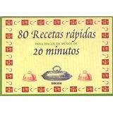 80 Recetas Rapidas Para Hacer En Menos De 20 Minutos-digital