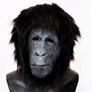 Mascara Latex Gorilla Mono King Kong Simio Mandril Gorila
