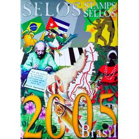 Colecao Anual De Selos Do Brasil 2005
